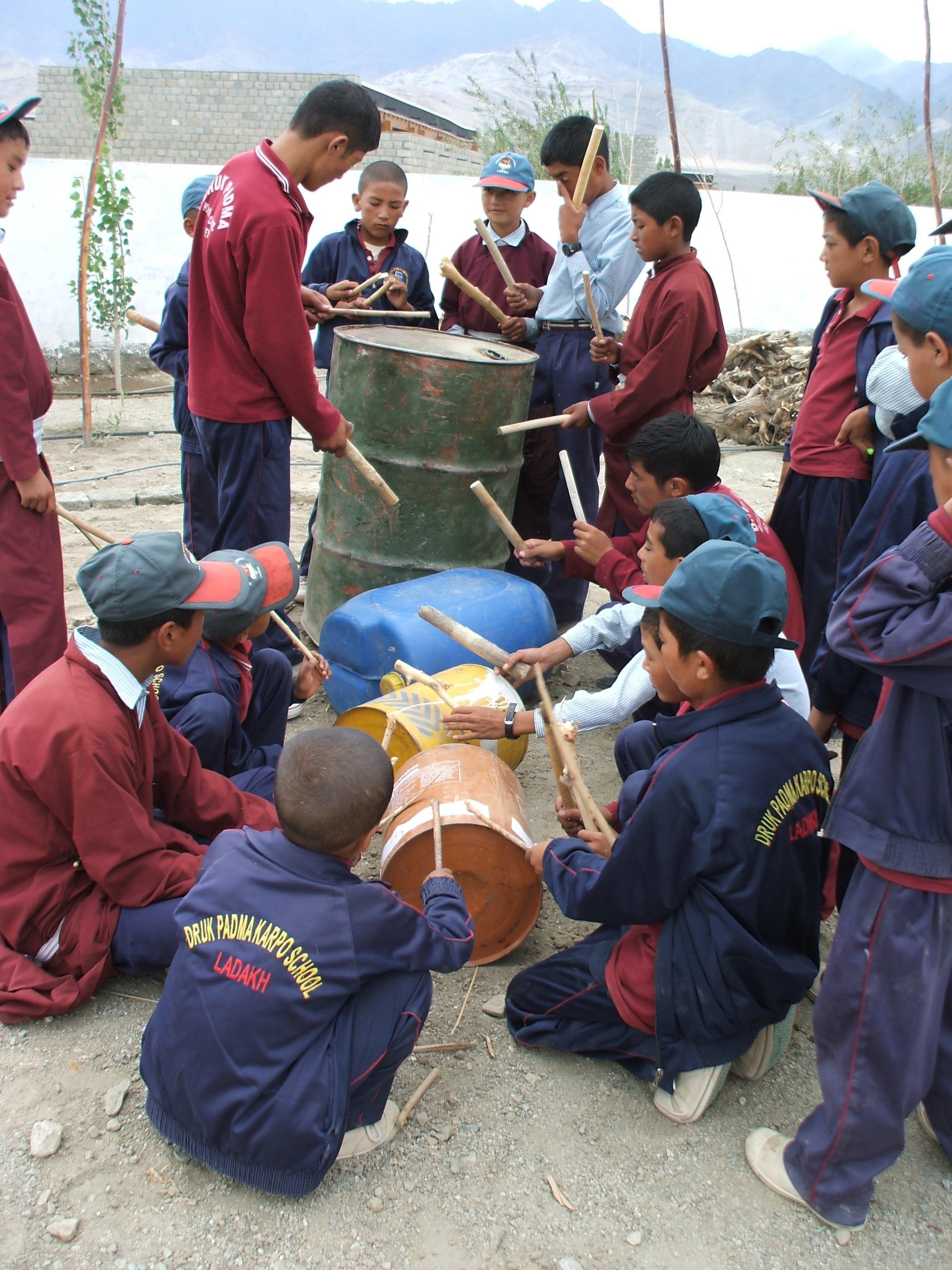 Scrap drum kit